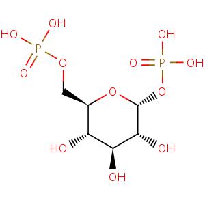 bmse000087 Alpha-D-Glucose 1,6-bisphosphate at BMRB
