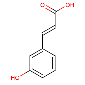 trans-3-Hydroxycinnamic acid image