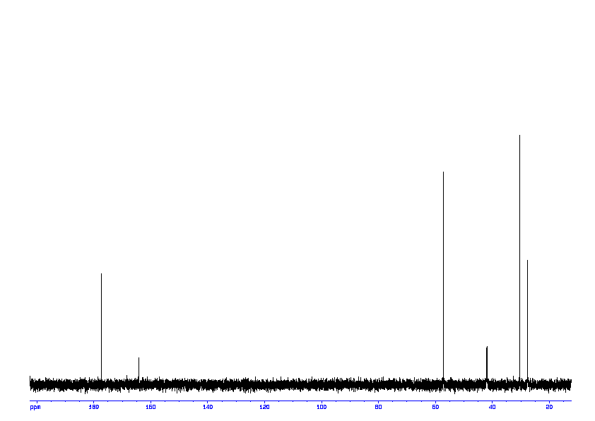 1D 13C, 7.4 spectrum for D-Citrulline