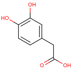 3,4-Dihydroxyphenylacetic acid image