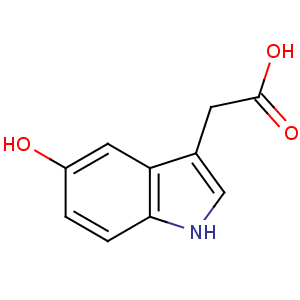 5-hydroxyindole-3-acetic acid image