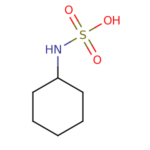 N_cyclohexylsulfamic_acid