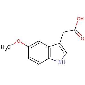 5-methoxy-3-indoleacetic acid image