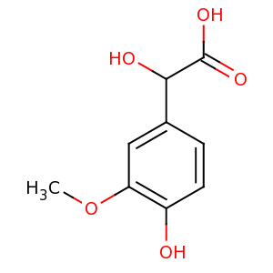 4-hydroxy-3-methoxymandelic acid image