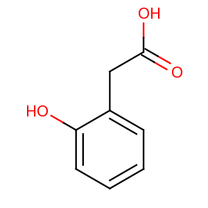 Bmse000715 2 Hydroxyphenylacetic Acid At BMRB
