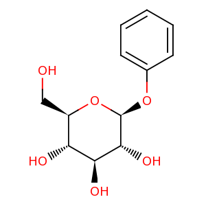 Phenyl beta-D-glucoside image