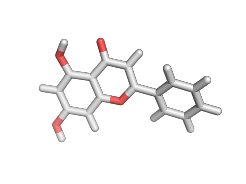5,7-dihydroxy-2-phenylchromen-4-one image
