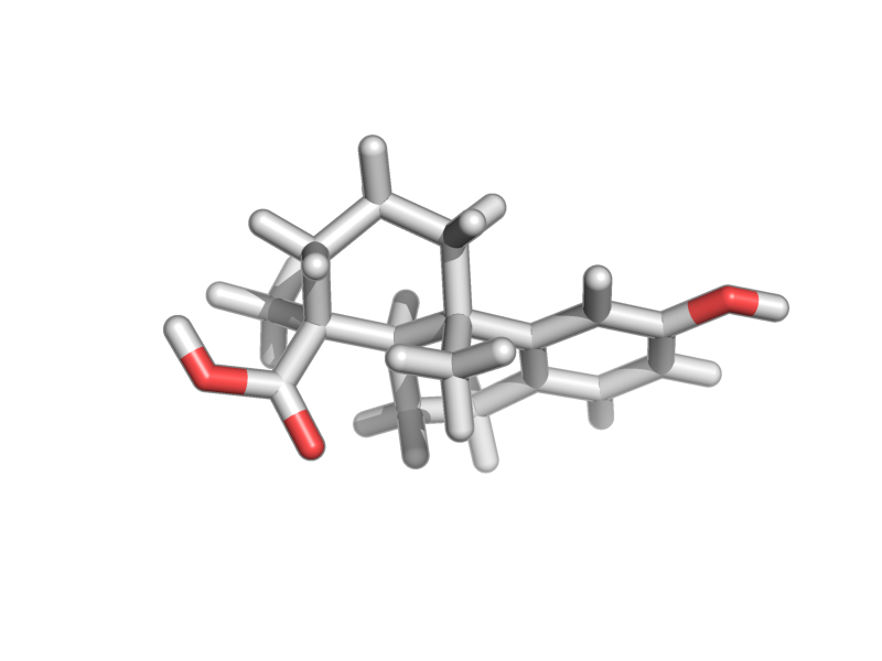 6-hydroxy-1,4a-dimethyl-2,3,4,9,10,10a-hexahydrophenanthrene-1-carboxylic acid image