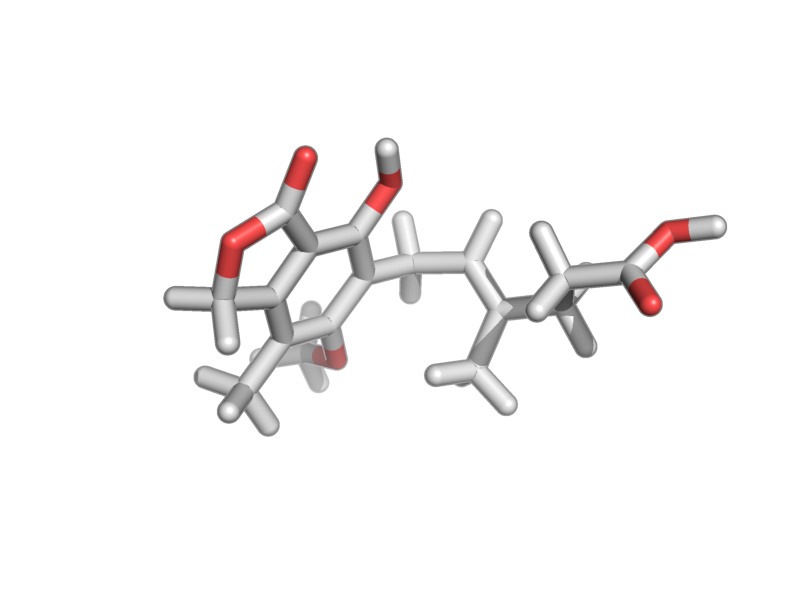 (E)-6-(4-hydroxy-6-methoxy-7-methyl-3-oxo-1H-2-benzofuran-5-yl)-4-methylhex-4-enoic acid image
