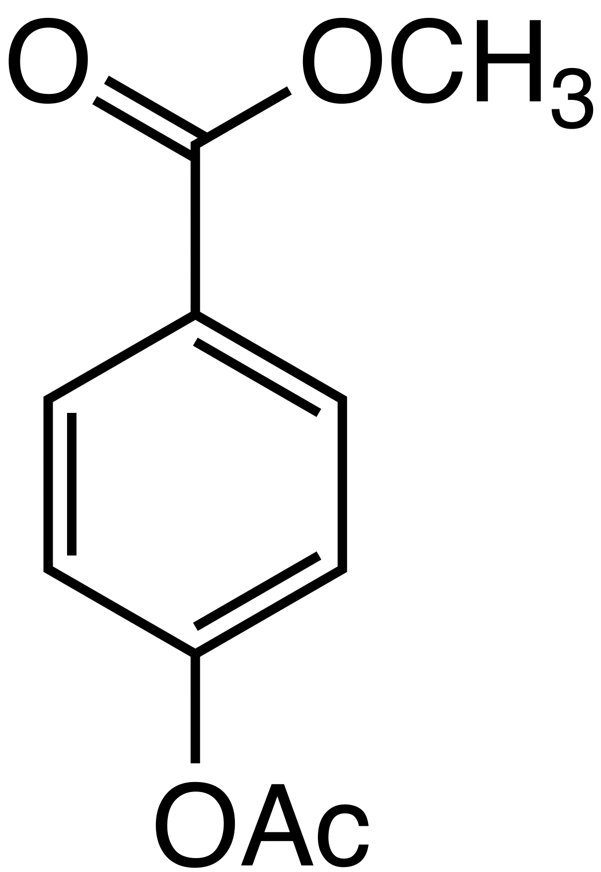 Methyl 4-acetoxybenzoate image