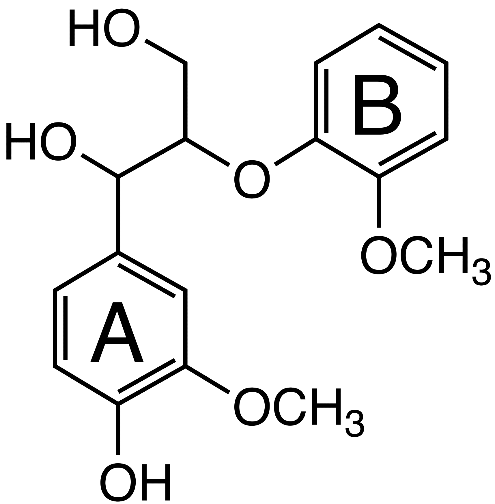 Guaiacylglycerol-B-guaiacyl ether image