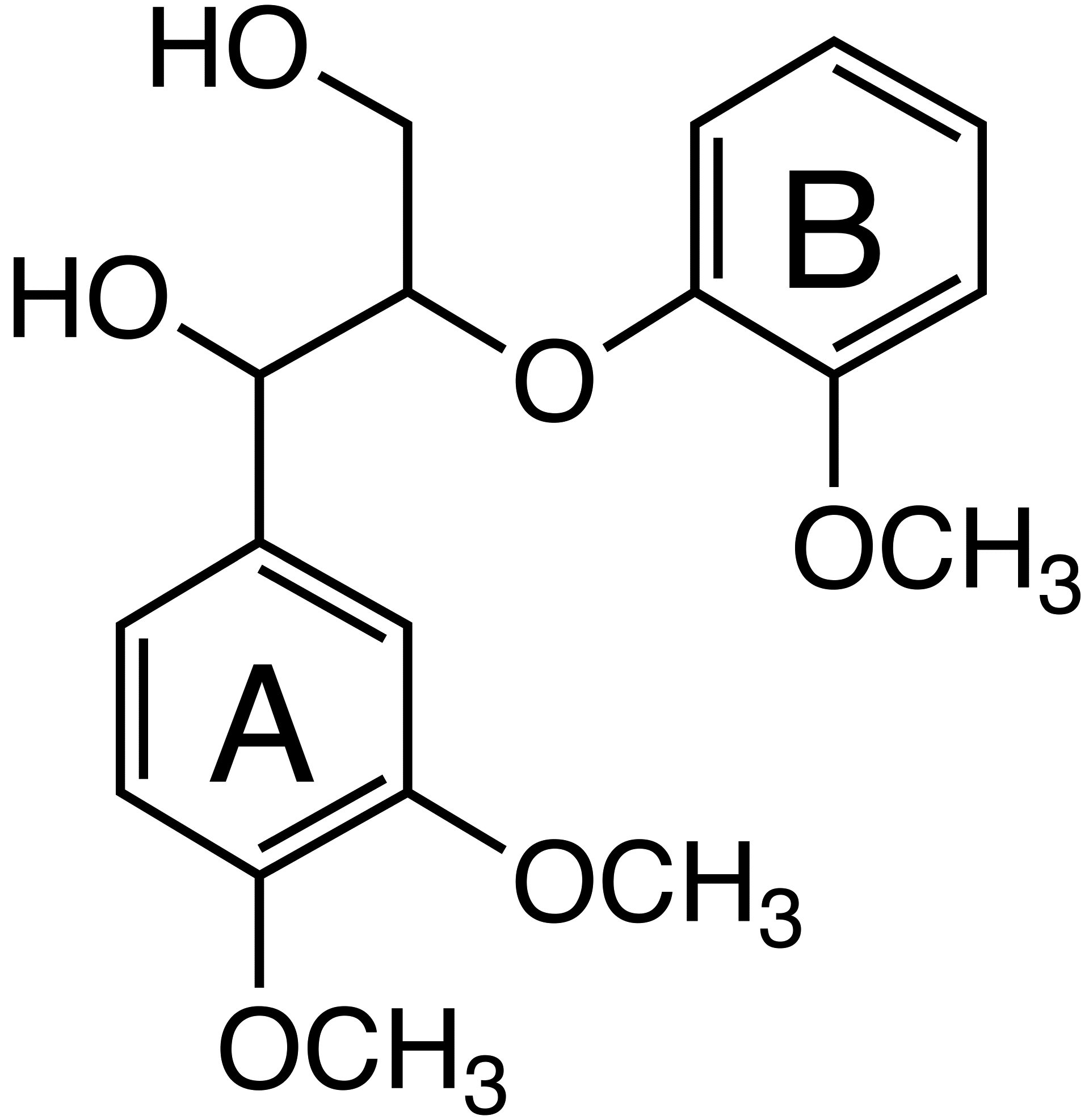 Veratrylglycerol-B-guaiacyl ether image