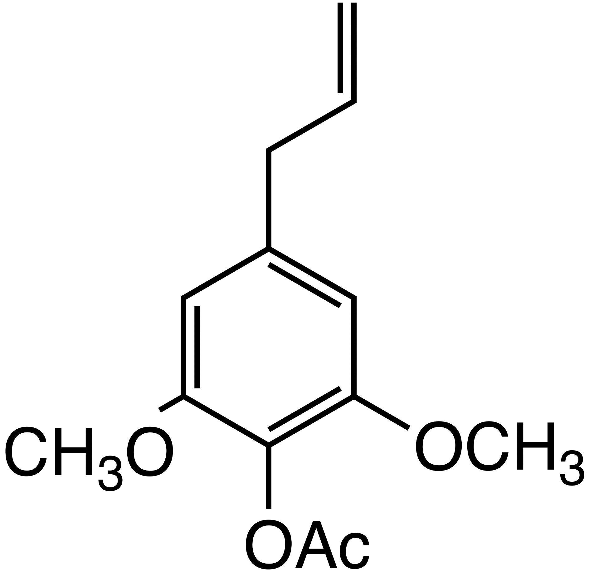 1-(3,5-dimethoxy-4-acetoxyphenyl)-2-propene image