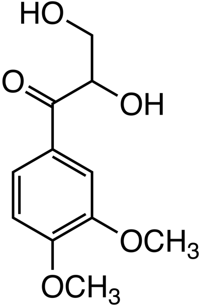 1-(3,4-dimethoxyphenyl)-2,3-dihydroxypropan-1-one image