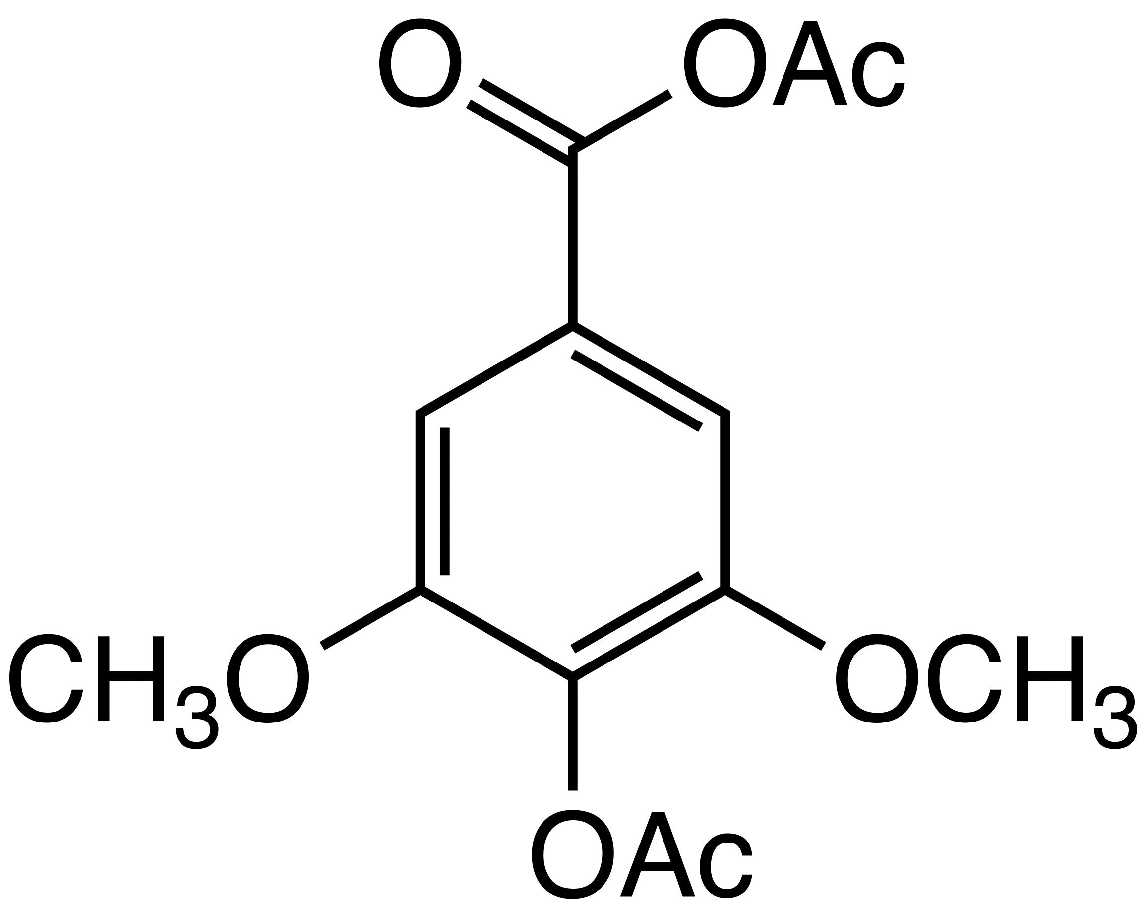 Bmse010103 syringic acid acetate at bmrb syringic acid acetate image pooptronica