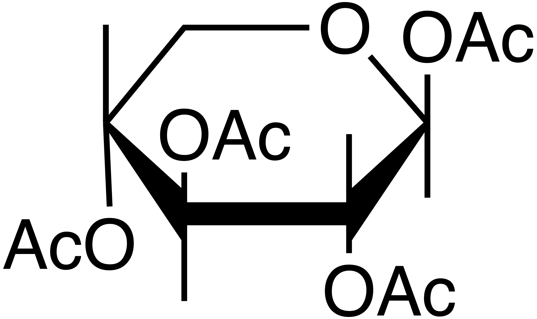 alpha,beta Xylose Acetate image