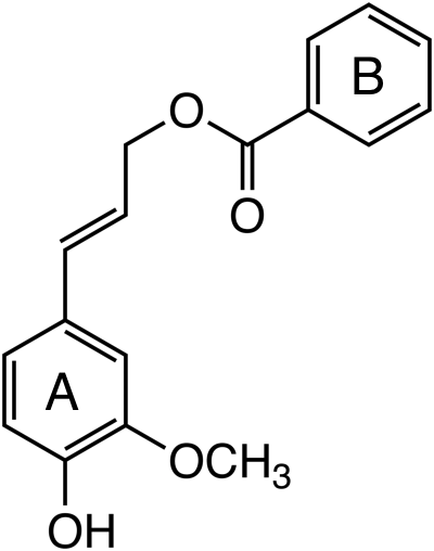 coniferyl benzoate image